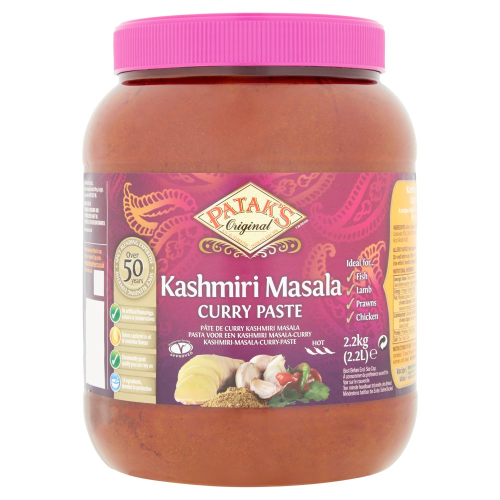 Patak's Kashmiri Masala Curry Paste 2.2L