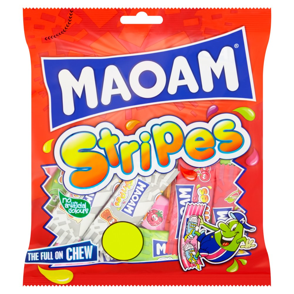 Haribo Maoam Stripes 180g - Pack of 6