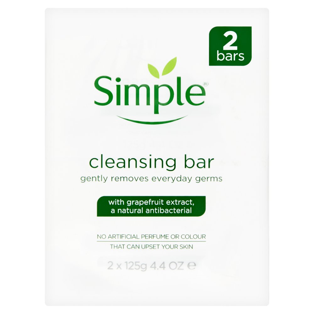 Simple Cleansing Bar (2x125g)