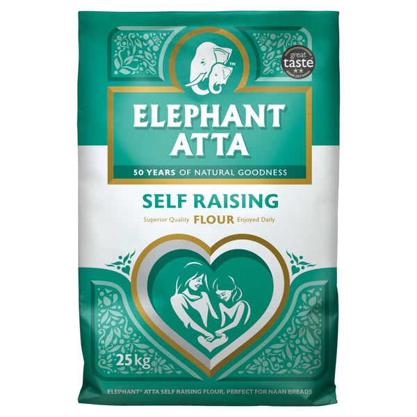 Elephant Atta Self Raising Flour 25kg