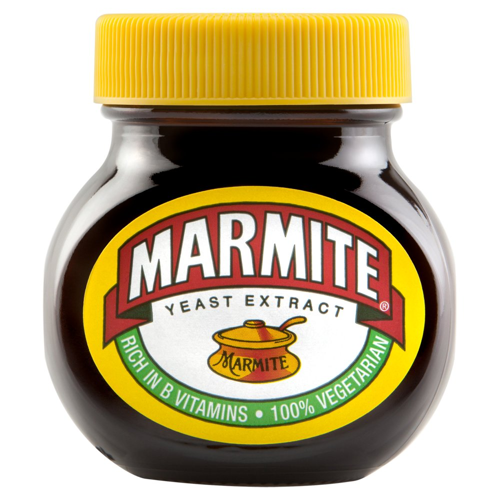 Marmite Yeast Extract, 4.4-Ounce Jars (Pack of 6)