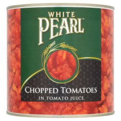 White Pearl Chopped Tomatoes in Tomato Juice 2.5kg