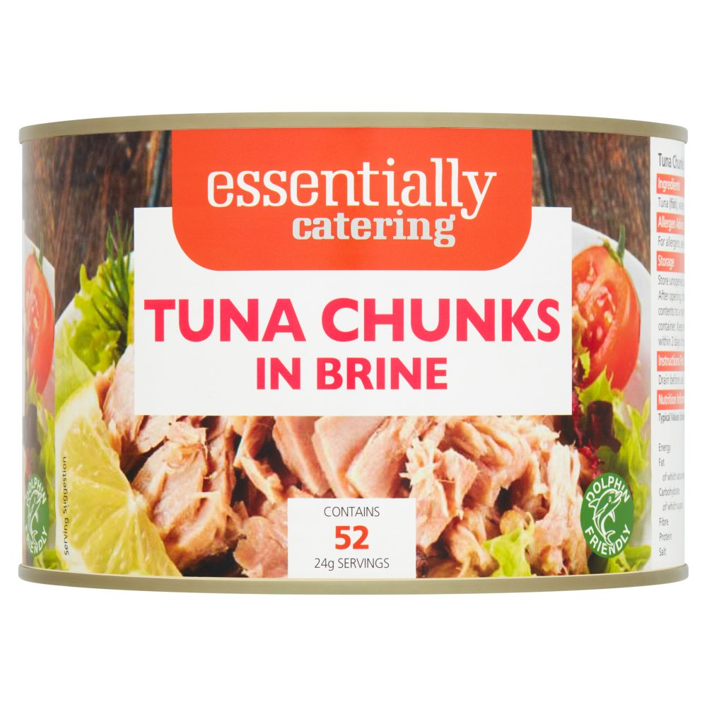 Essentially CateringTuna Chunks in Brine 1.7Kg