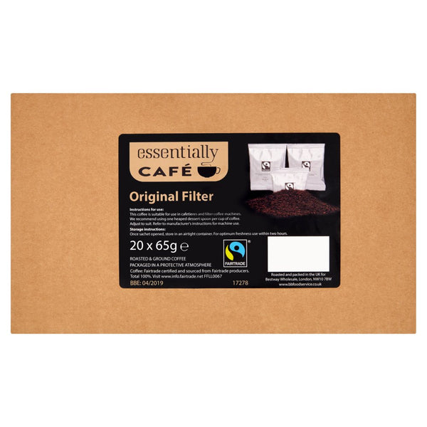 Essentially Catering Café Fairtrade Original Filter 65g