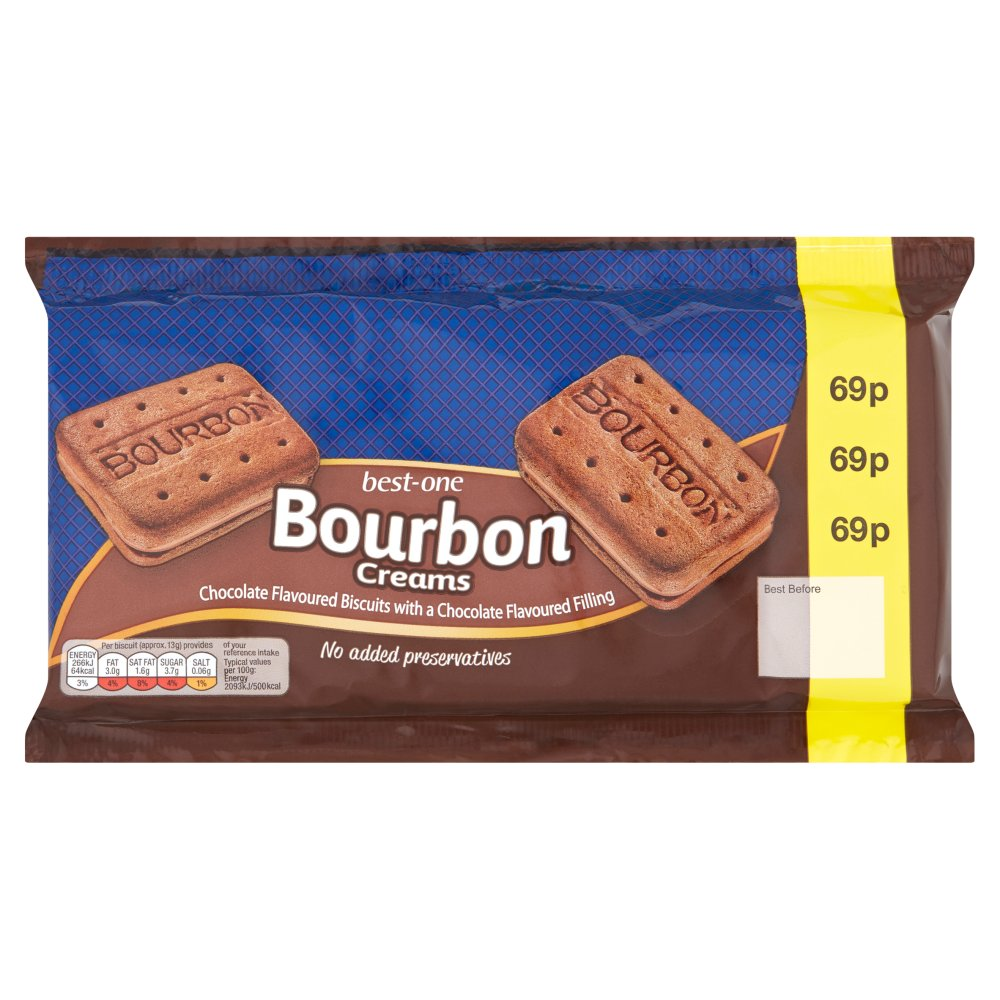 Best-One Bourbon Creams 300g