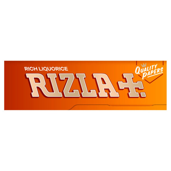 50 Booklets Rizla Liquorice Small Std Cigarette Rolling Papers Box By Minevra Trading