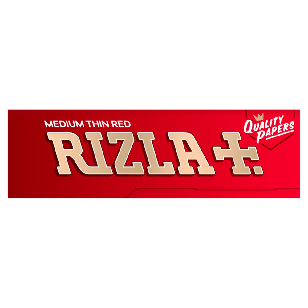 Rizla Red Regular Rolling Papers 70mm Full Box Of 100 packs