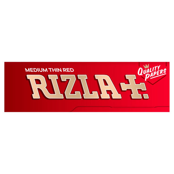 Rizla Red 69mm Regular Cigarette Rolling Papers - 5 Packets