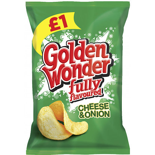 Golden Wonder Cheese And Onion 75g