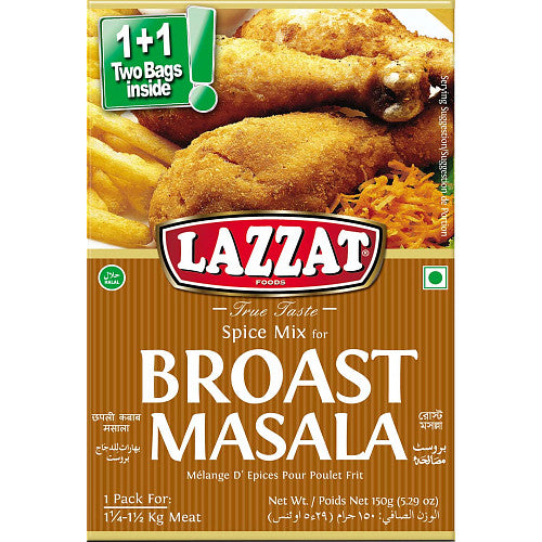 Lazzat Broast Masala 150g