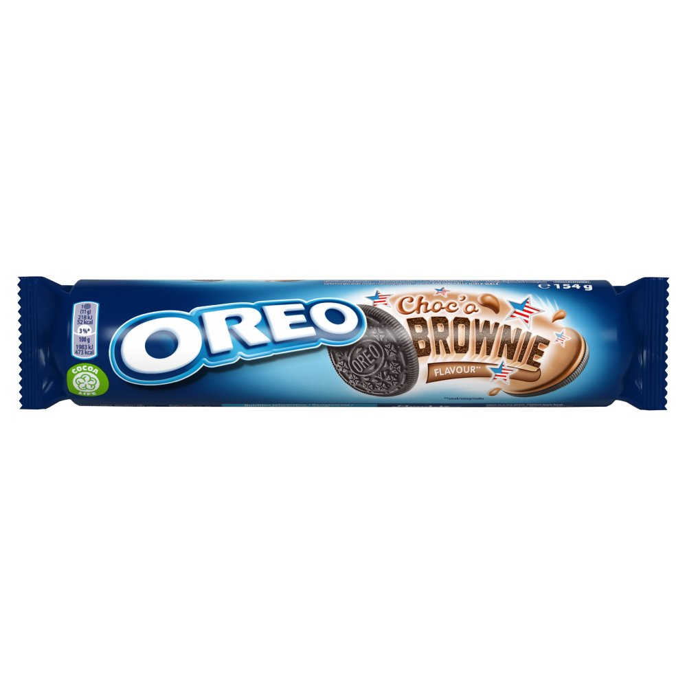 Oreo Choc'o Brownie Sandwich Biscuit 154g