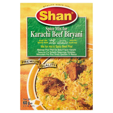 Shan Spice Mix for Karachi Beef Biryani 60g