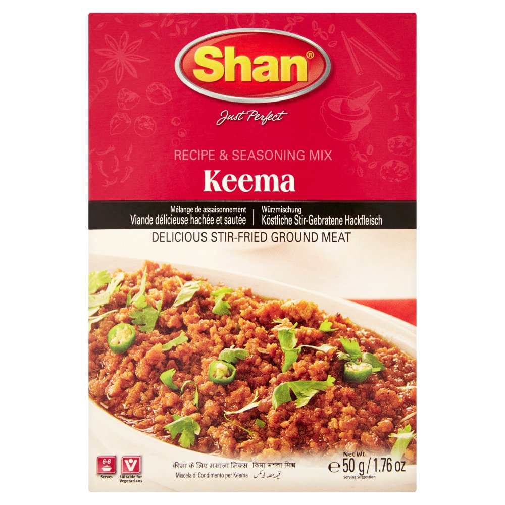 Shan Keema Recipe & Seasoning Mix 50g