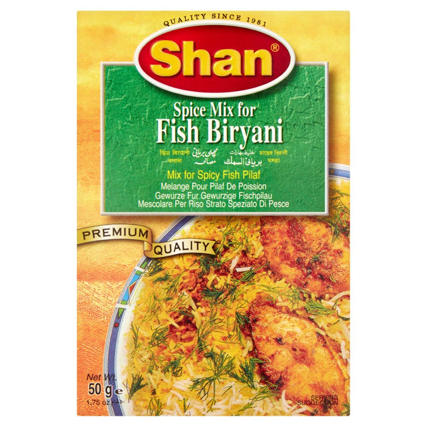Shan Spice Mix for Fish Biryani 50g