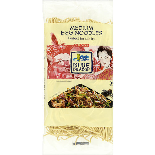 Blue Dragon Medium Egg Noodles 250g