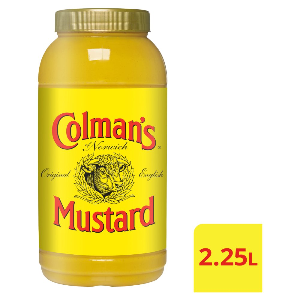 Colman's Original English Mustard 2L
