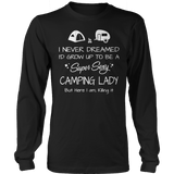 Super Sexy Camping Lady