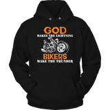 Bikers Make The Thunder Hoodie