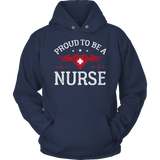 Limited Edition - Proud to be a Nurse-HEART WITH WINGS Hoodie
