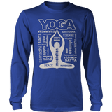 Limited Edition - Yoga Is My Life Ladies Crewneck Fleece Royal Blue