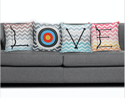LOVE Archery Pillow Set