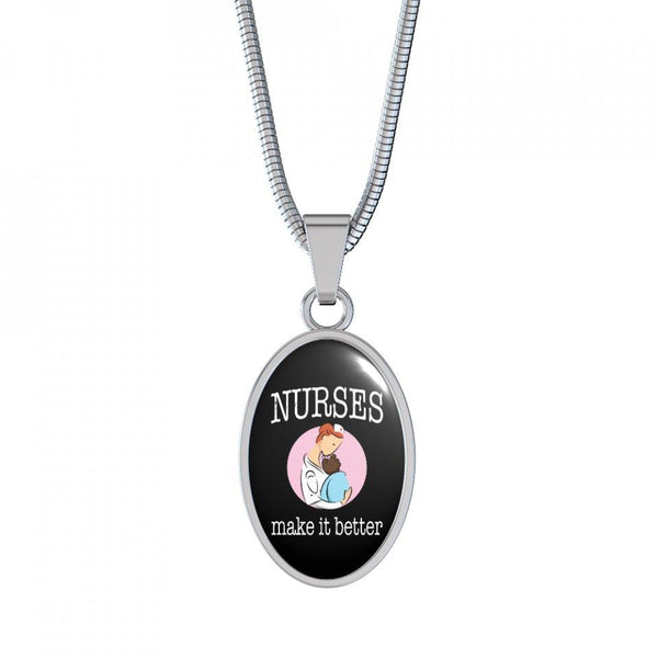 Nurses Make It Better - Necklace and Bangle