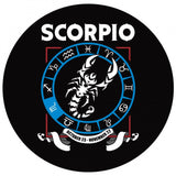 Scorpio - Zodiac Necklace Circular