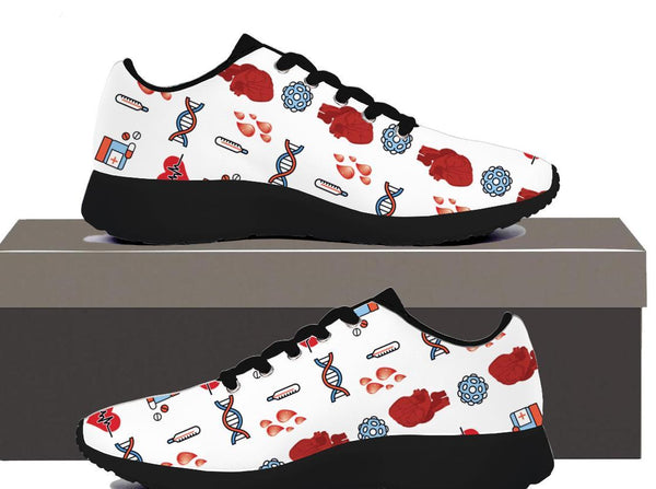 Nurse-Heart-DNA - Women's Sneakers