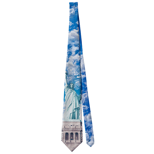 Statue of Liberty - Blue - Necktie