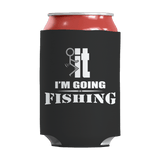 Limited Edition - I'm Going Fishing Can Wrap Black