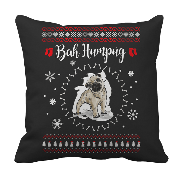 Limited Edition - Bah Humpug - Pillow Black