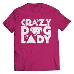 Limited Edition - Crazy Dog Lady T Shirt Classic