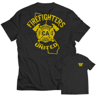 Limited Edition - California Firefighters United Unisex T-Shirt