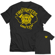 Limited Edition - Texas Firefighters United - T-Shirt