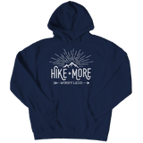 Hike More Worry Less - Hoodie  Navy