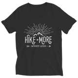 Hike More Worry Less Ladies V Neck