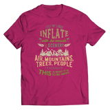 I Felt My Lungs Inflate - T-Shirt Pink