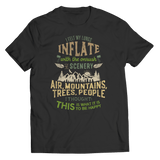 I Felt My Lungs Inflate - T-Shirt  Black