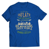 I Felt My Lungs Inflate - T-Shirt Royal Blue