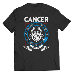 Cancer Zodiac T Shirt