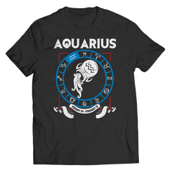 Aquarius Zodiac T Shirt
