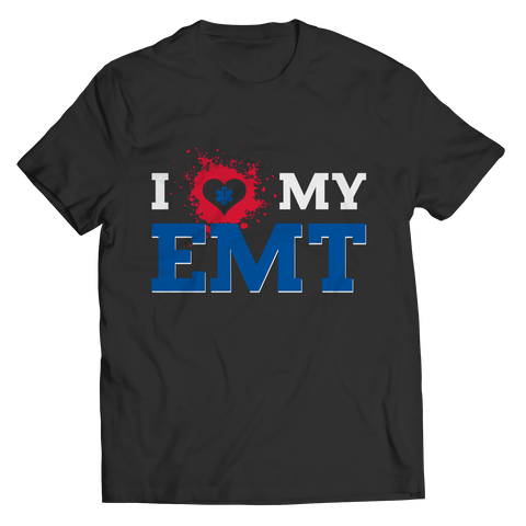 I Love My EMT - T Shirt Classic