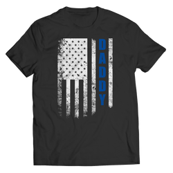 Daddy Flag T Shirt