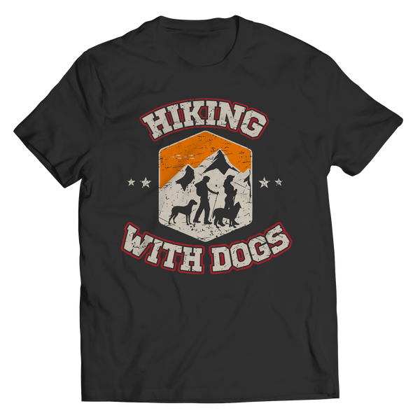 Hiking With Dogs - Unisex Shirt