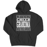 Limited Edition - Warning Cheer Grandma will Yell Loudly - Hoodie