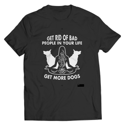 Get Rid Of Bad People - T-Shirt