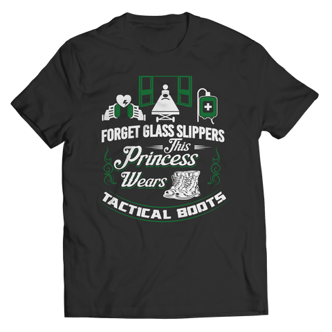 Forget The Glass Slippers - T Shirt Classic