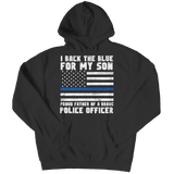 Limited Edition - Proud Father Of A Police Officer - Hoodie