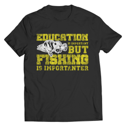 Limited Edition -Education Is Important Unisex Shirt