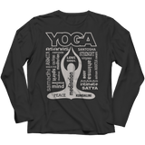 Limited Edition - Yoga Is My Life Long Sleeve Black